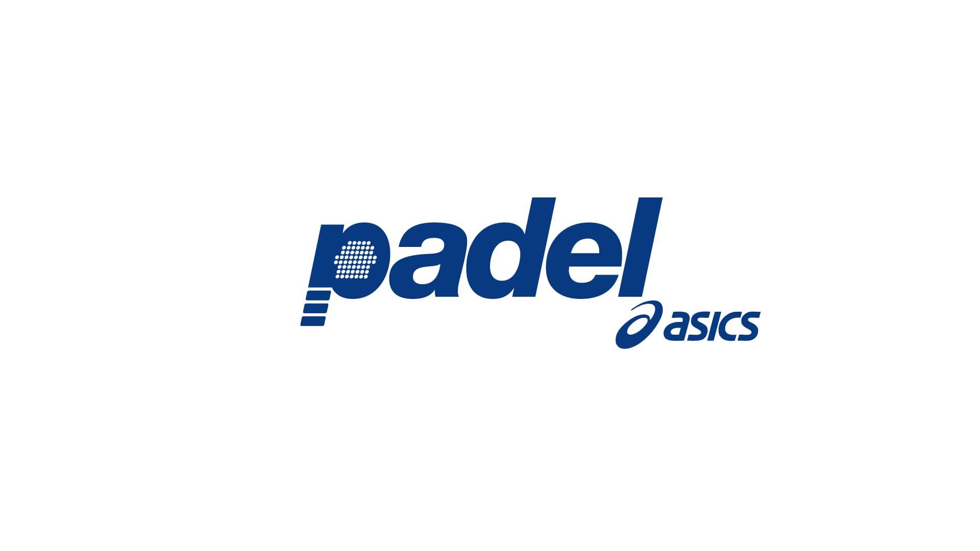 Asics Padel logo design - Simon Winter Design